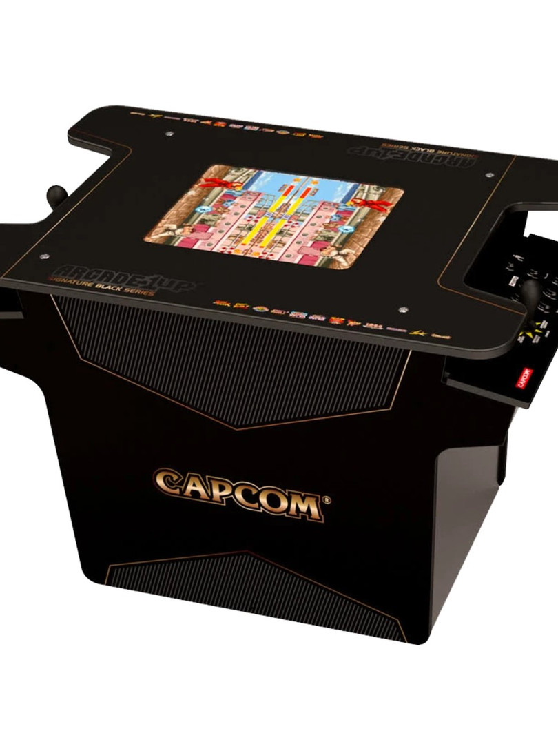 Capcom Cocktail Table Arcade Rental Flor
