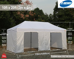 10 x 20 White Tent Rental - Party Rental Services - Deerfield Beach 786-423-8759