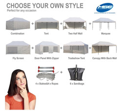 10 x 20 White Tent Rental - Party Rental Services - Hollywood, Florida 786-423-8759