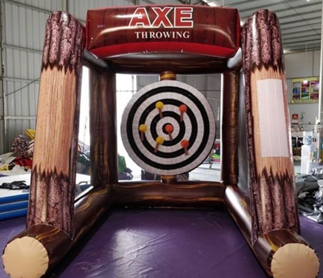 Axe Throwing Velcro Inflatable - Corpora