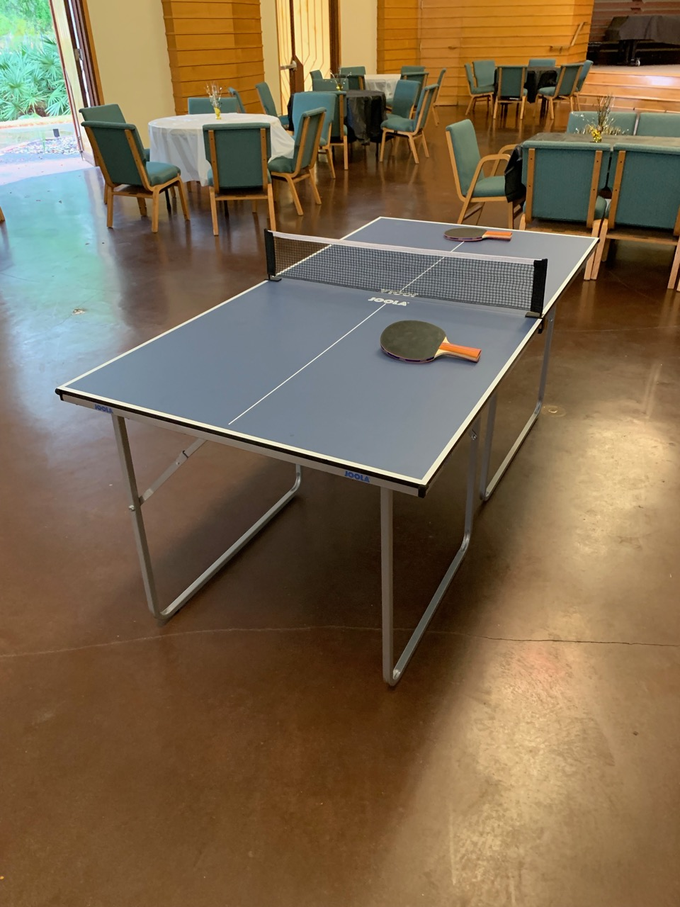 2 Player Mid Size Ping Pong Table Rental