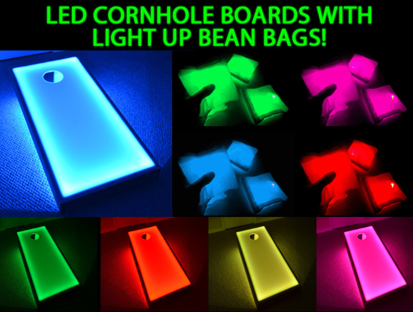 Miramar LED Cornhole Rental