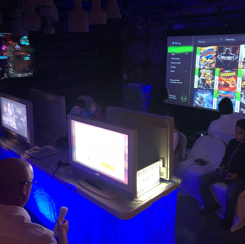 Fortnite Projector Gaming Rental - Party Equipment Rental Services - Boca Raton 786-423-8759