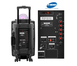12 Inch LED Light Ball Speaker - Audio Party Rental Service - Fort Lauderdale 786-423-8759