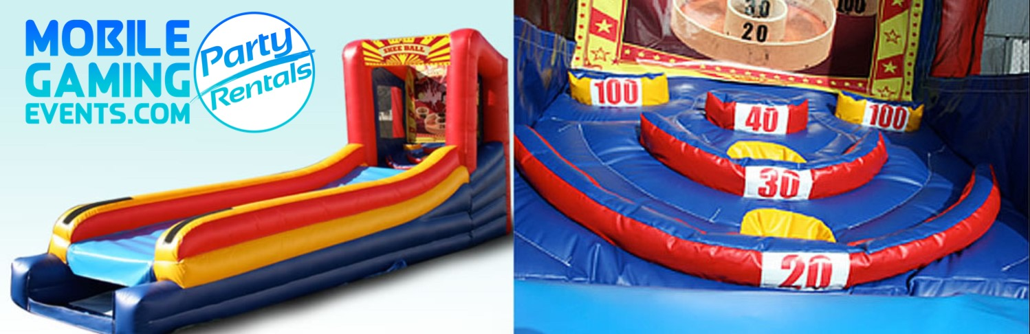 Skeeball Inflatable Rental - Party Renta