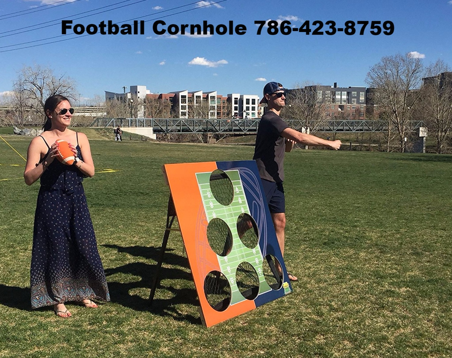 Football Cornhole - Game Party Retnals - Parkland, FL, 786-423-8759_edited