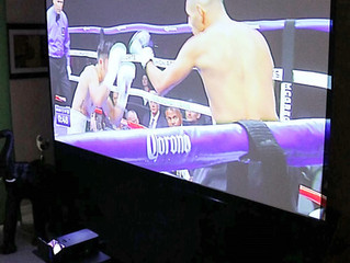 Oakland Park Projector Rental - McGregor vs Mayweather Fight - Florida - 786-423-8759