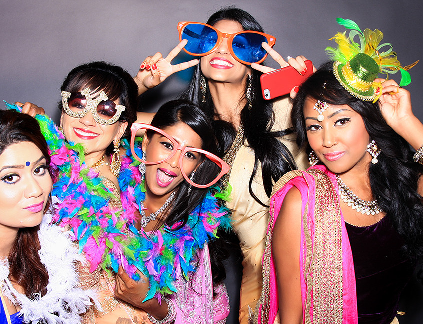 Photo booth picture in Miami