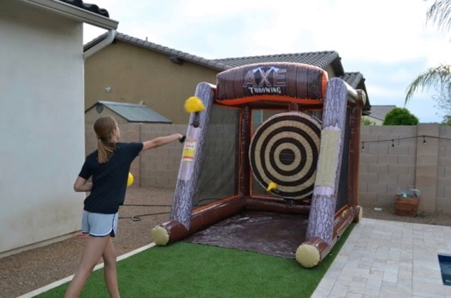 Axe Throwing Inflatables - Corporate Par