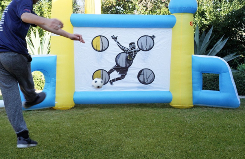 Soccer Inflatable - Bounce House - Coral Gables 786-423-8759