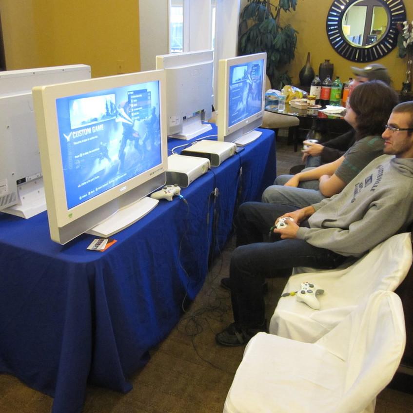 Indoor Video Gaming Parties South Fl