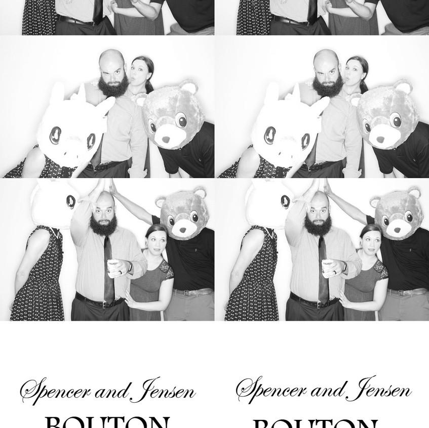 Wedding Black & White Photobooth