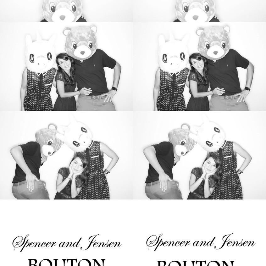 Birthday Black & White Photobooth