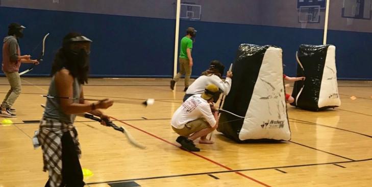 Indoor Archery Tag Rental Florida - Team