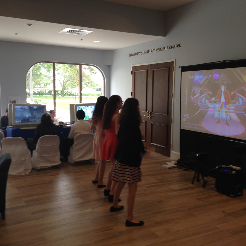 Projector Video Gaming Party