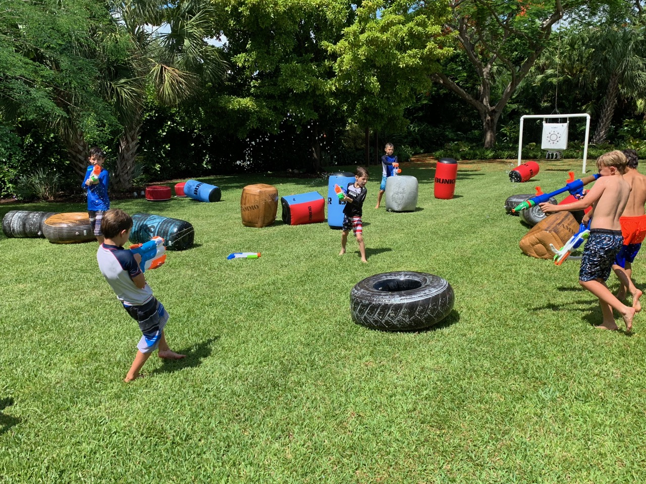 NERF Water Guns - Party Rentals - Fort L