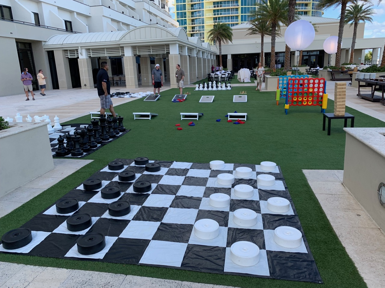 Jumbo Checkers Rental Florida - Corporat