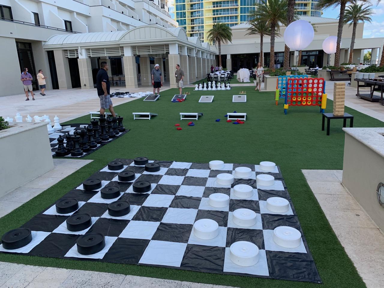 Jumbo Checkers Rental Florida - Corporat