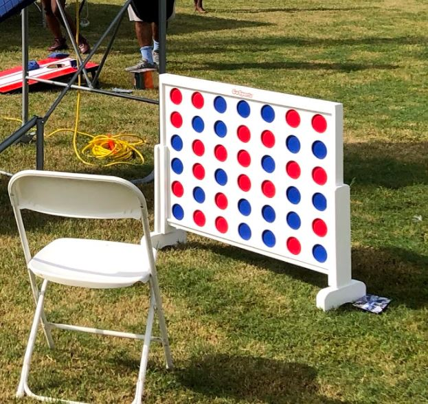 Giant Connect 4 - Boca Raton - Party Game Rental