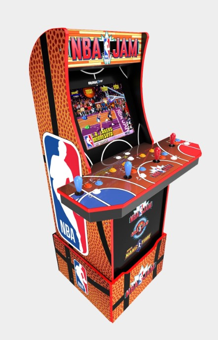 4 Player NBA Jam Arcade Rental Florida - Corporat