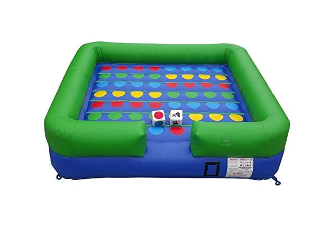 Jumbo Twister Game Inflatable Rental Flo