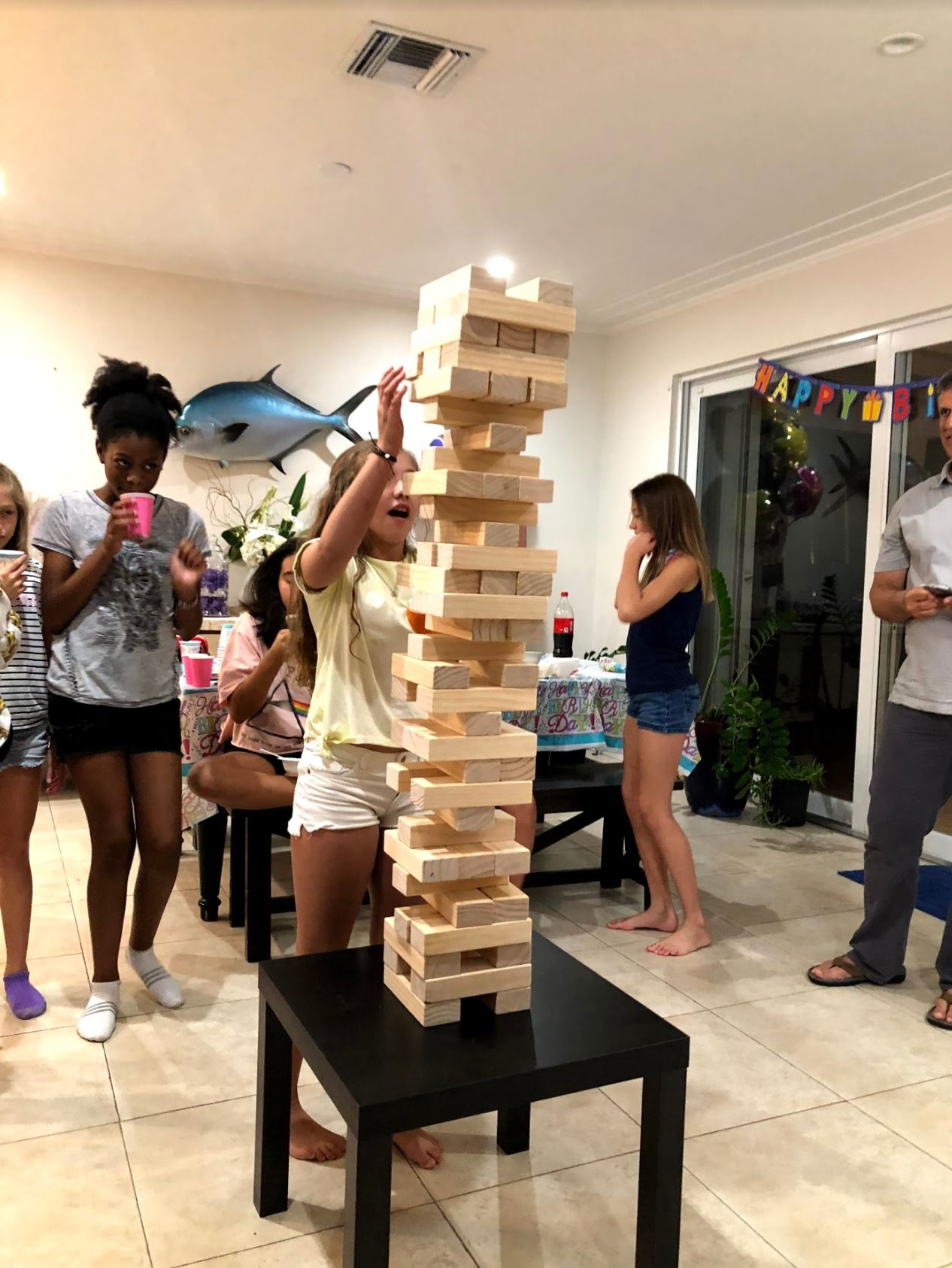 Topple Tower - Brithday Party Game Rentals