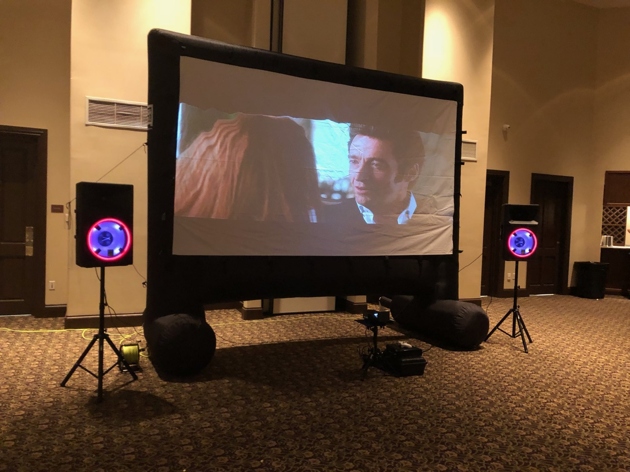 16 Foot Projector Rental Florida - Party