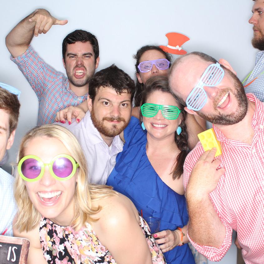 Group Wedding Photobooth