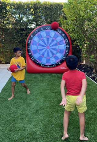 Kick Dart Inflatable Game Rental Florida