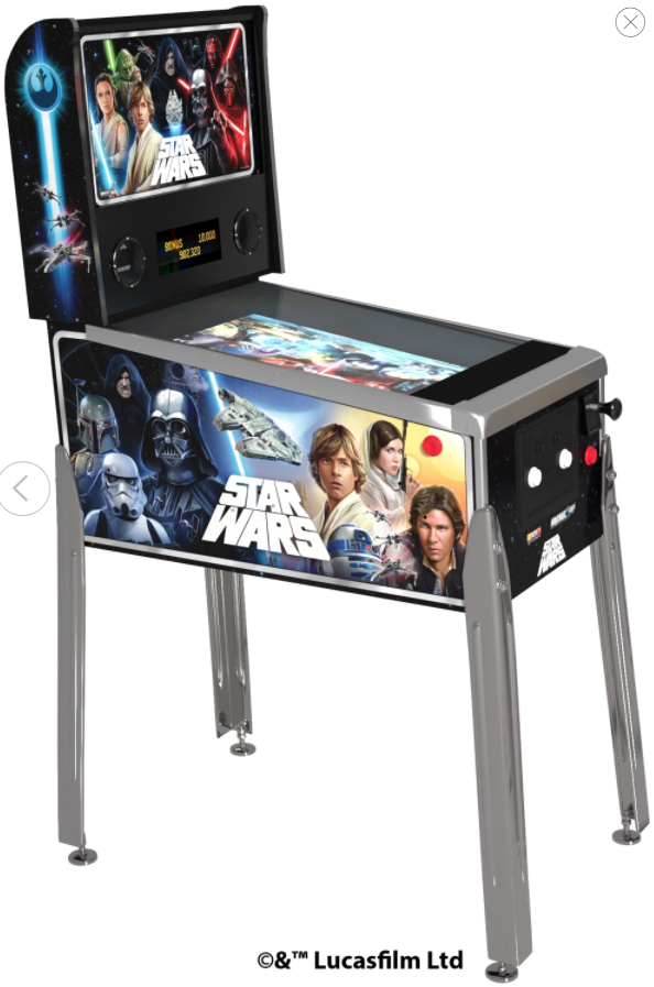 Star Wars Virtual Pinball Rentla Florida