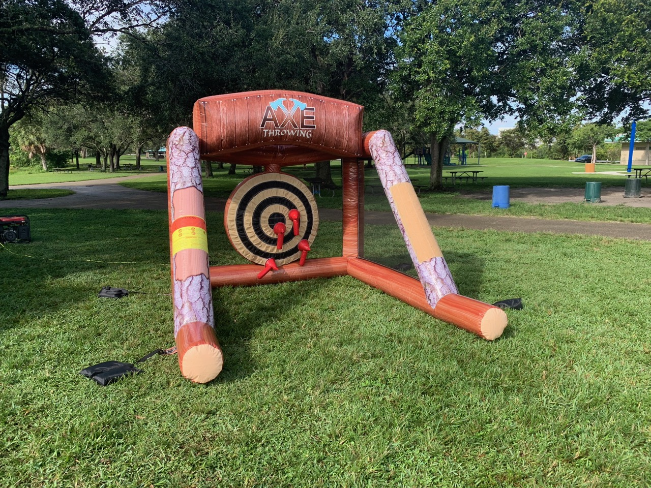 Axe Throwing Inflatable Florida - Corpor