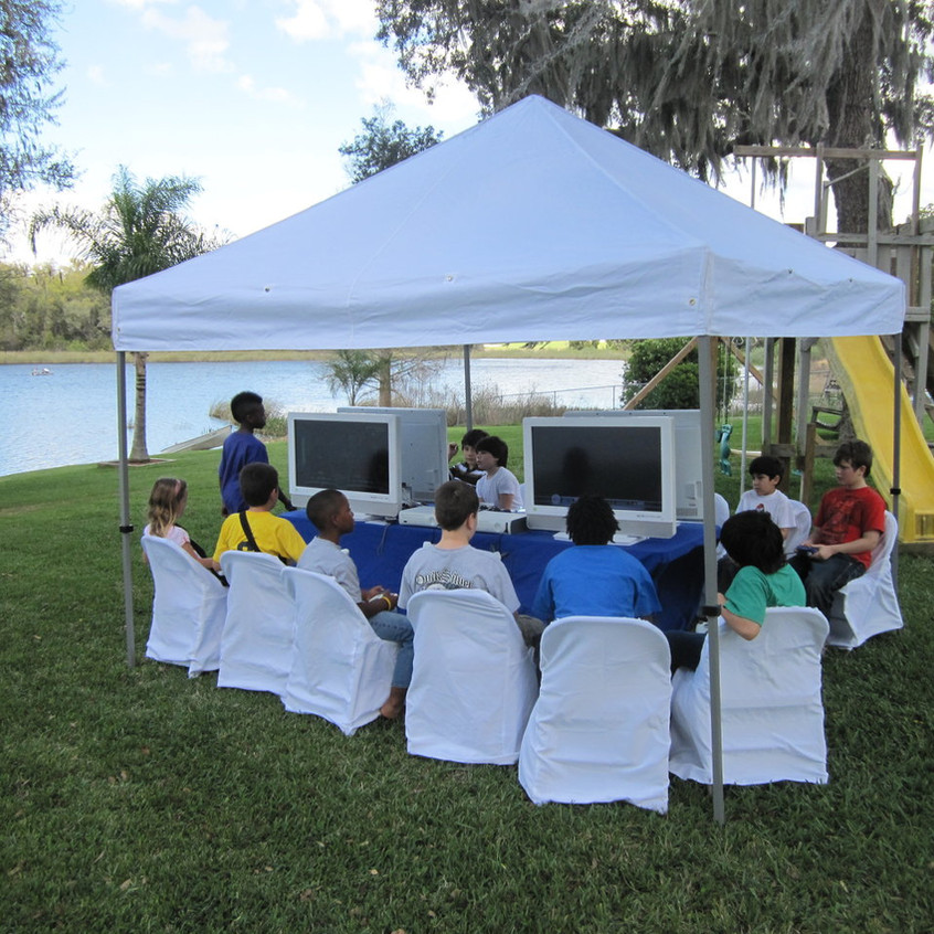 Outdoor Video Game Truck Party