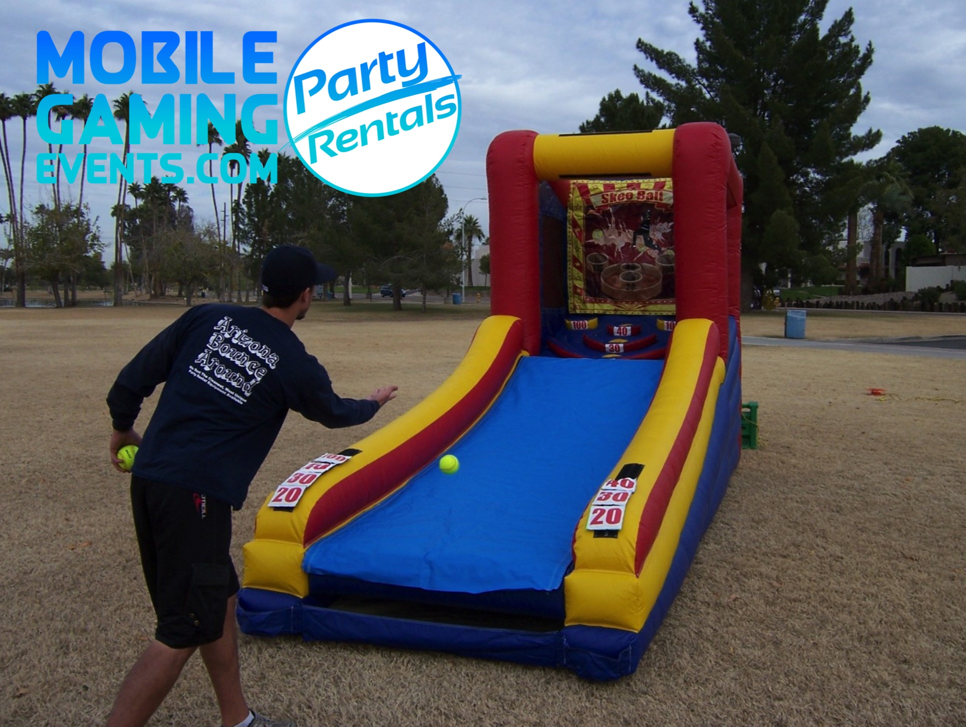 Skeeball Inflatable Rental - Carnival Ga