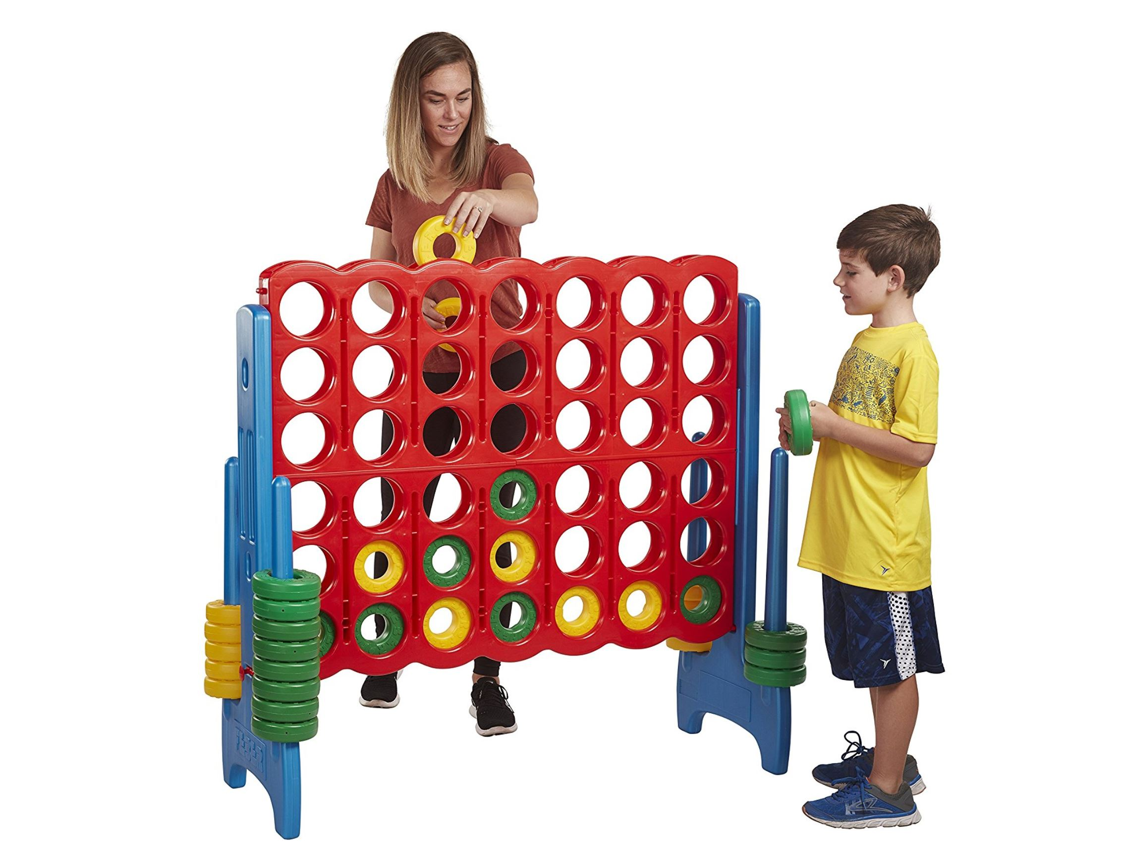 Jumbo Connect 4 - Delray Beach - Midway Party Games 786-423-8759