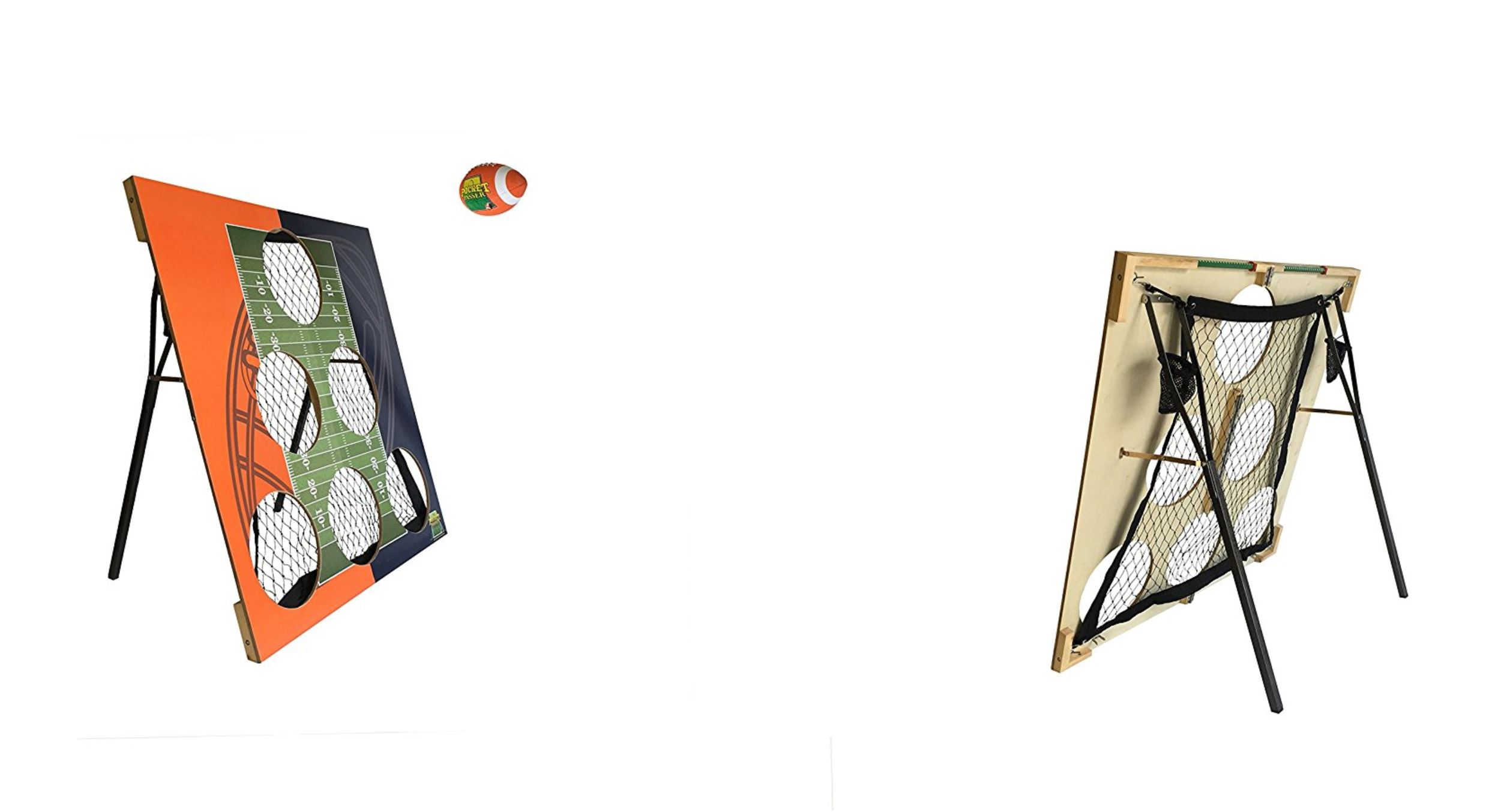 Football Cornhole - Tailgate Party Rentals - Miami, FL 786-423-8759