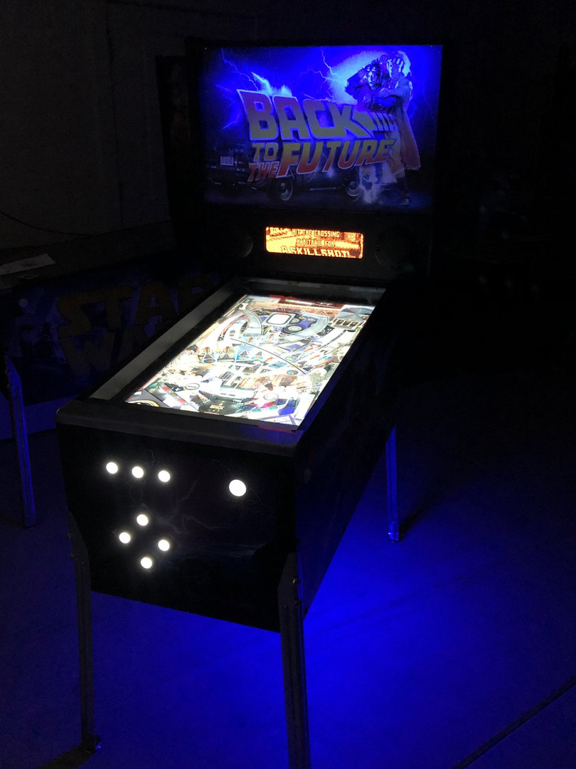 Virtual Pinball Arcade Rentals Florida -