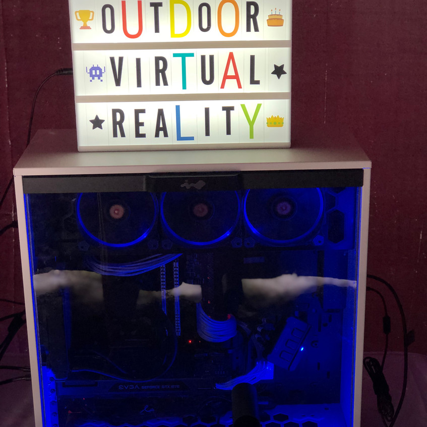 Outdoor Virtual Reality Parties