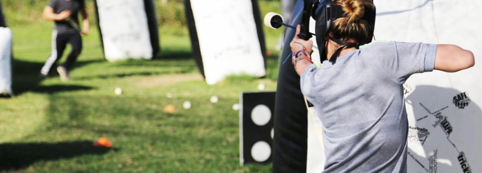 Archery Tag Rental Florida - Birthday -