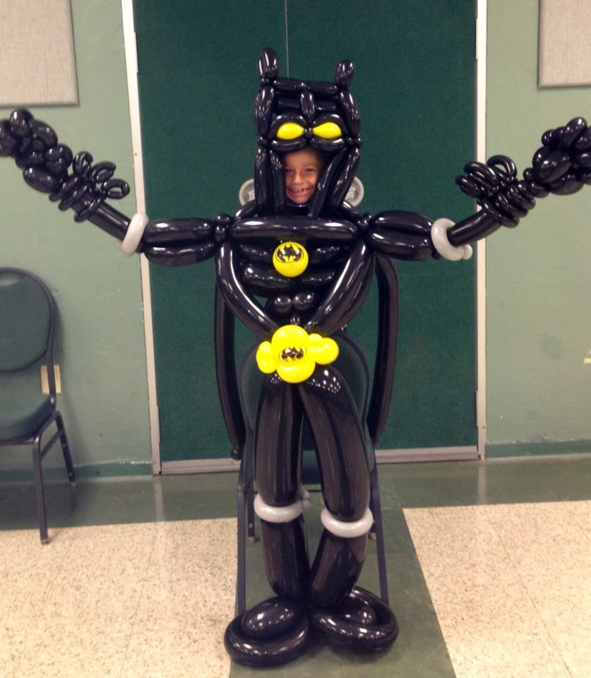 Batman Ballon Twist - Boca Raton - School Event