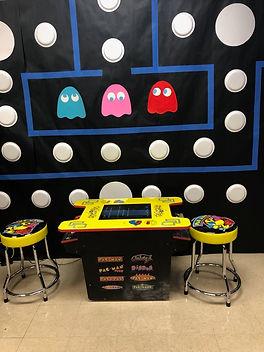 Pacman Cocktail Table Arcade Rental Flor