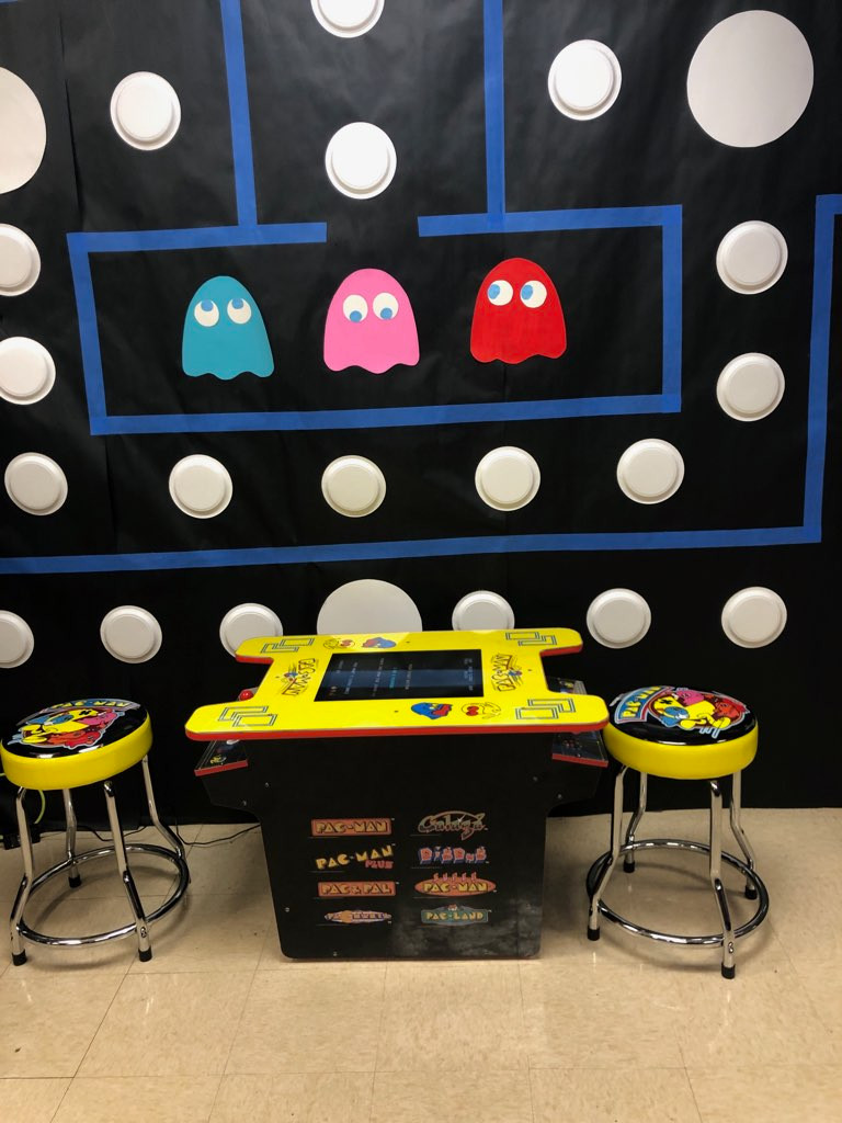 Pacman Cocktail Table Arcade Rental Flor