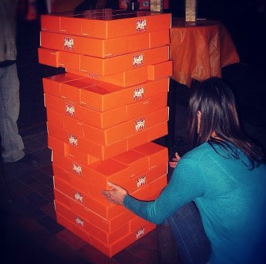 Jumbo Jenga Rental - Party Event Rentals - 786-423-8759 South Florida