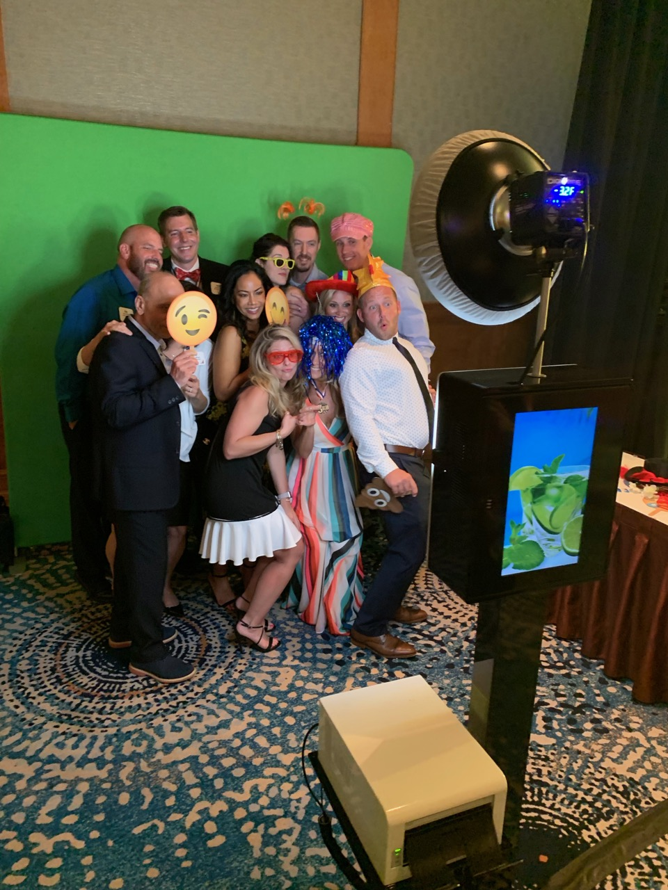 Green Screen Photobooth Rental Florida -