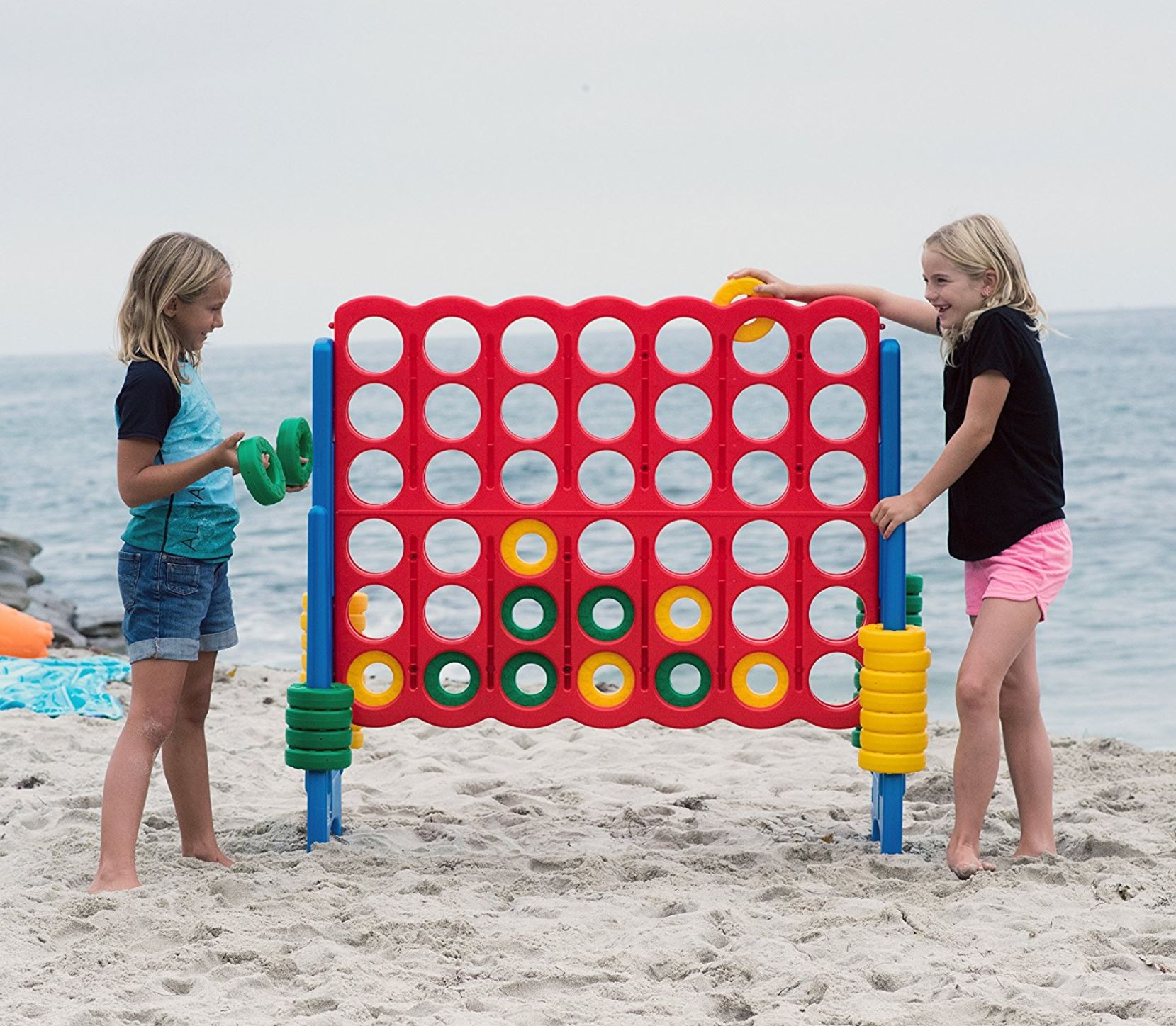 Oversized Connect 4 - Miami - Party Rentals Services 786-423-8759