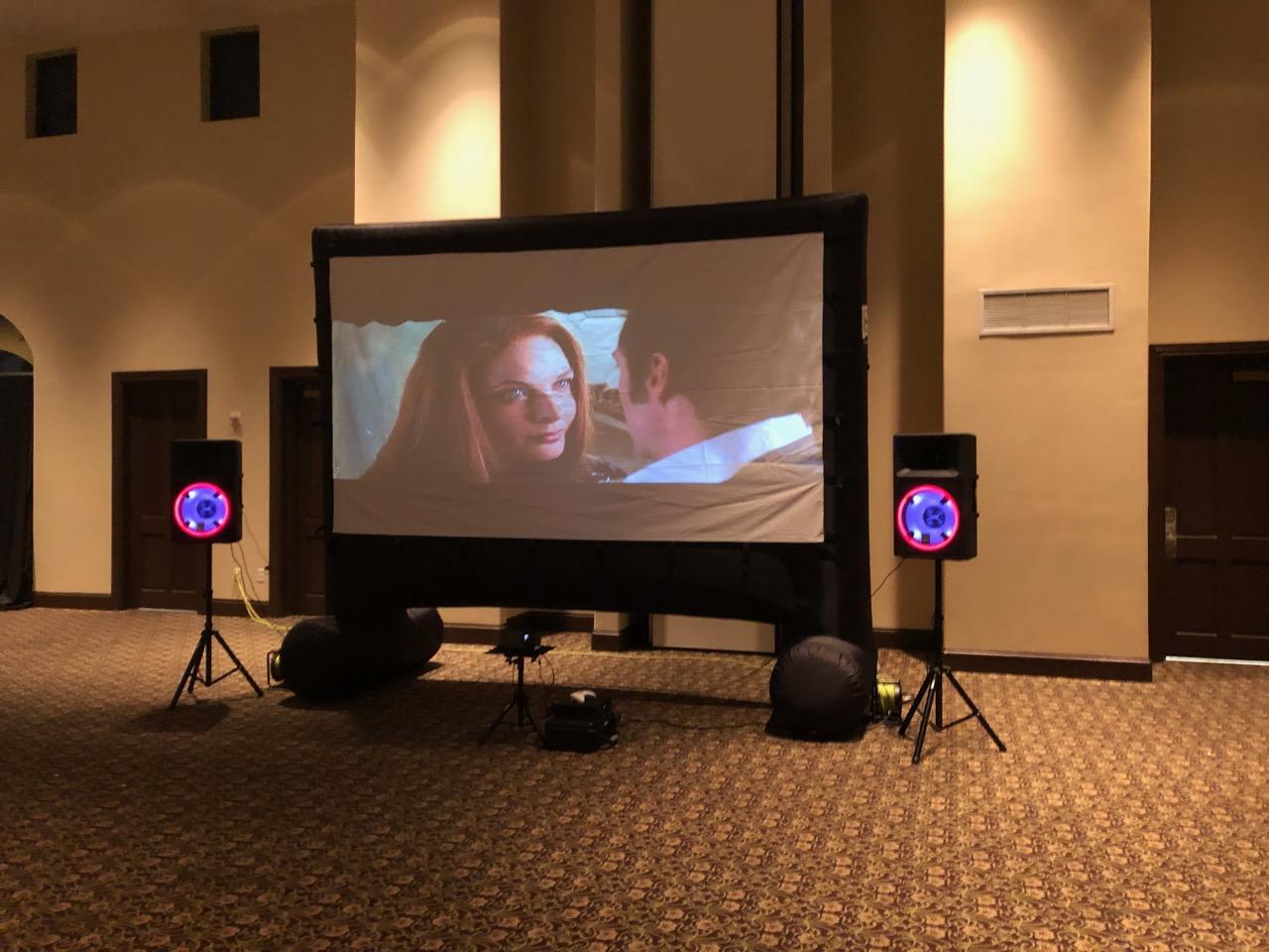 16 Foot Projector Rental Florida - Birth