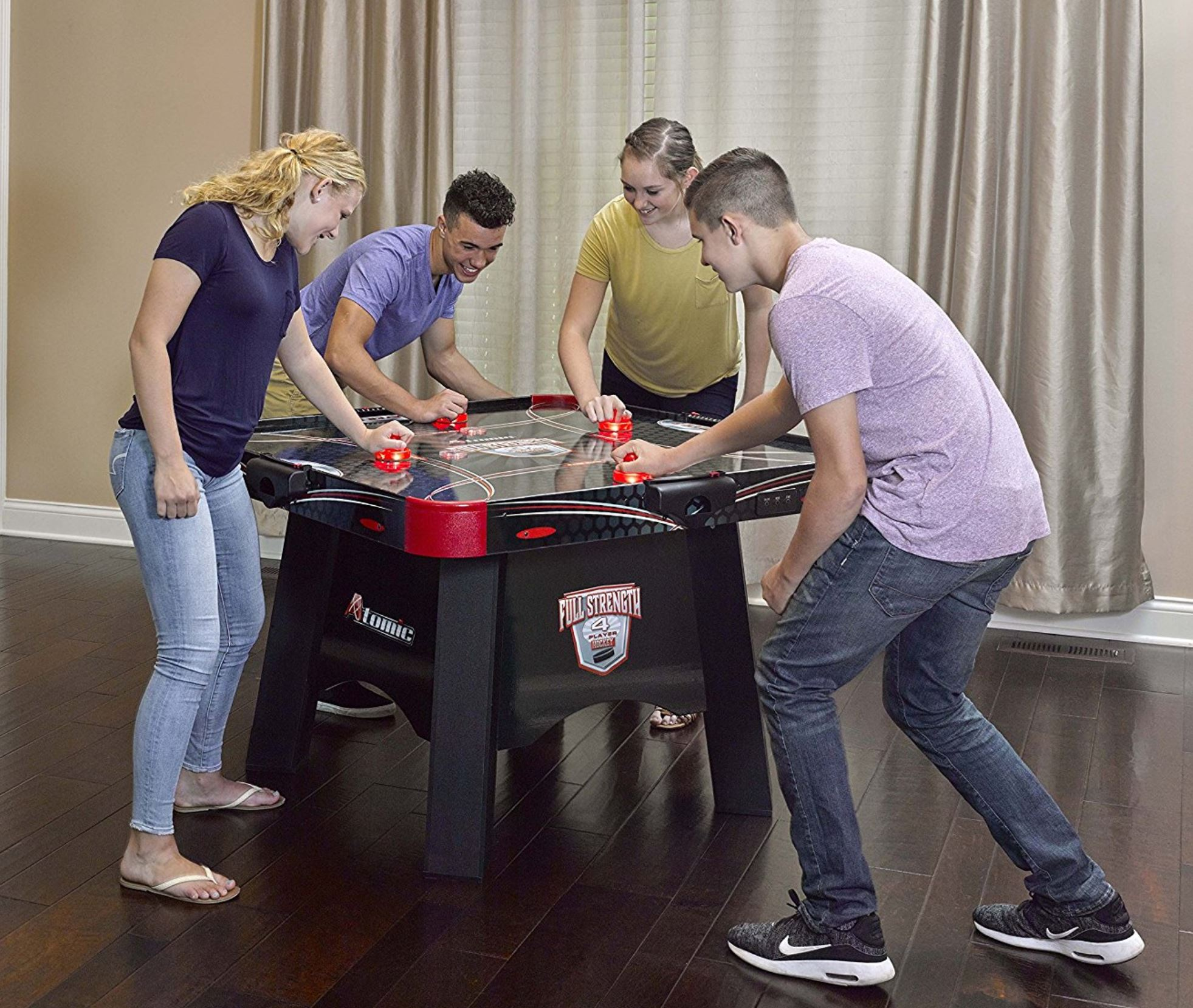 4 Player Air Hockey - Boca Raton - Party Rental Services 786-423-8759