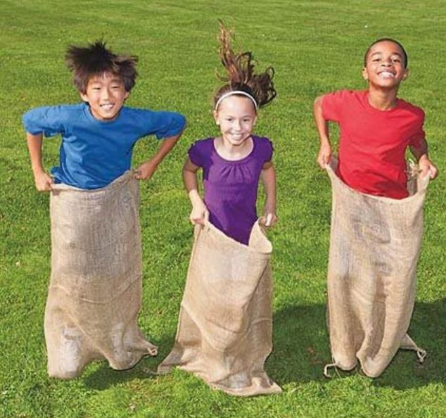 Potato Sack Race - Party Game Rentals - Pompano Beach, FL