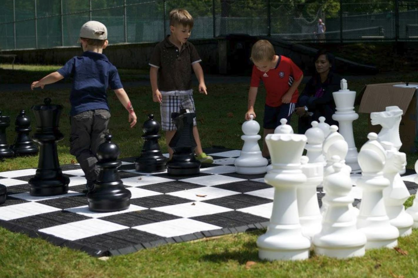 Jumbo Chess Event Rental - Sunrise Florida Party Rentals - Fort Lauderdale 786-423-8759