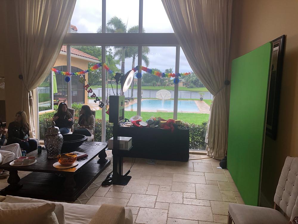 Green Screen Photobooths in Delray Beach