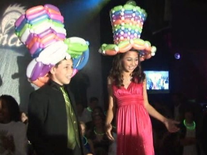 Balloon Hat - Miami - Bar Mitzvah
